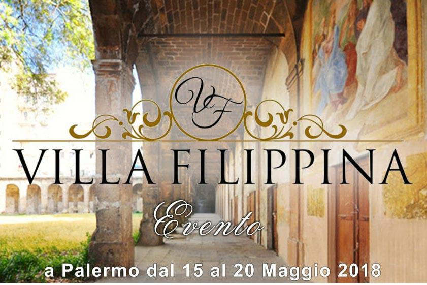 """""""Regioniamo Sicilia"""" a Villa Filippina a Palermo dal 15 al 20 Maggio 2018"""